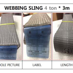 dây cáp vải bản dẹt 4 tấn