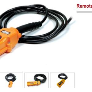 remote điều khiển tời điện