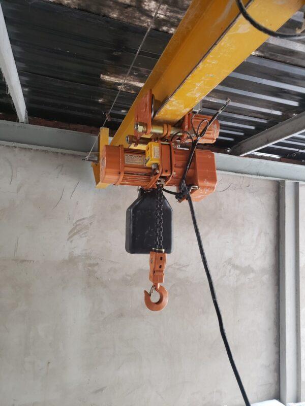 Lắp Đặt Palang Điện 1 Tấn Tại Nhà Máy Giấy Tại Long An