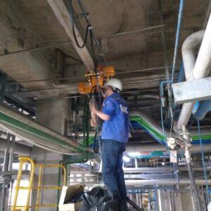 Lắp Đặt Điều Khiển Không Dây Của Palang Điện Tại Nhà Máy