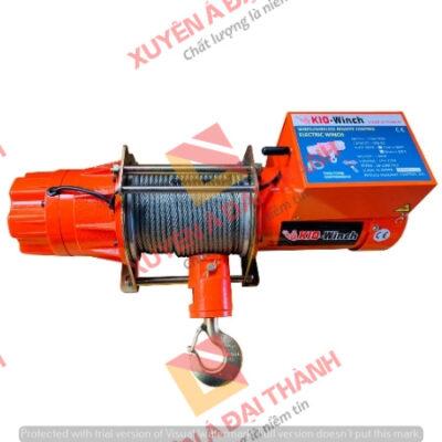 Tời điện 200kg Điều khiển không dây KIO- Winch Model GSW- 200