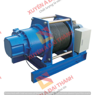 Tời điện 3 pha 2 tấn KIO - Wind Model GG - 2000