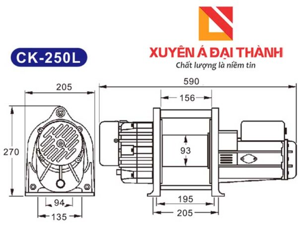 thong-so-ki-thuat-may-toi-dien-mini-ck250l