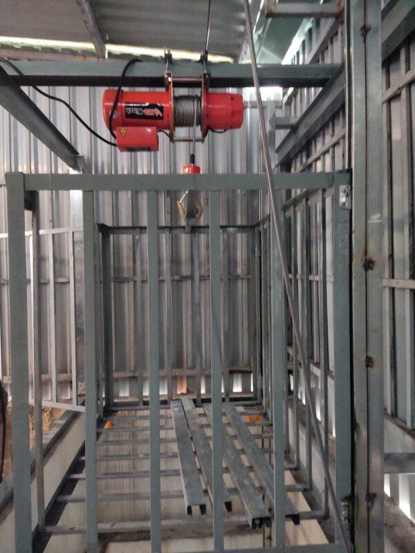 Lắp đặt máy tời điện an toàn