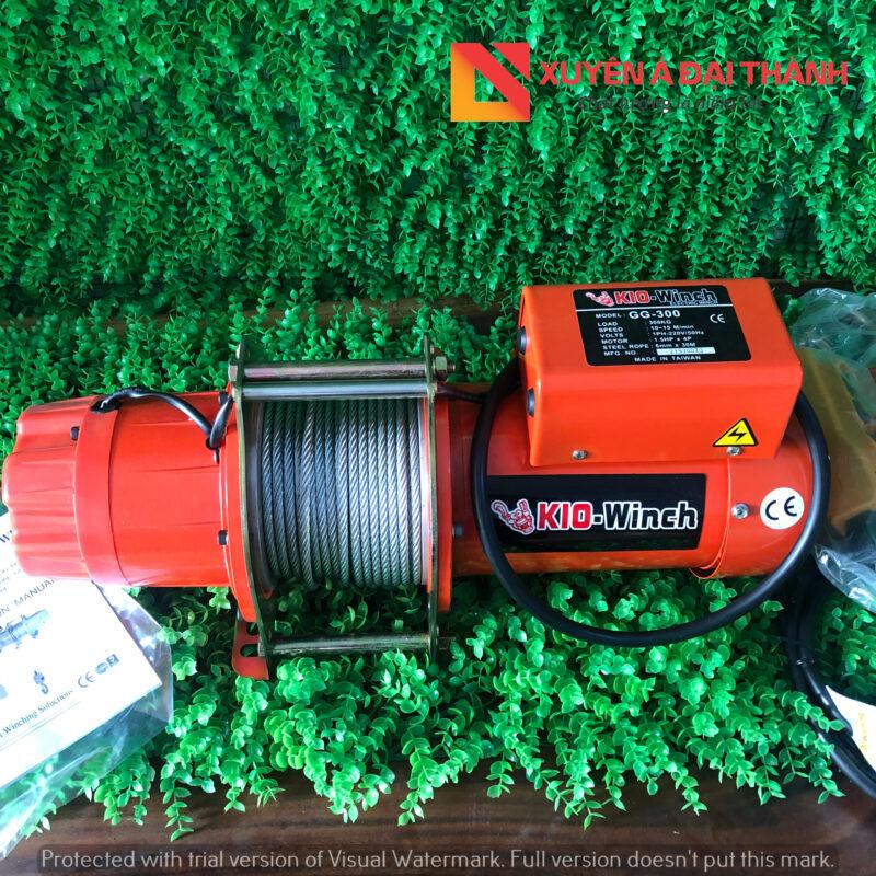 Hình ảnh tời điện KIO WINCH nhập khẩu chính hãng