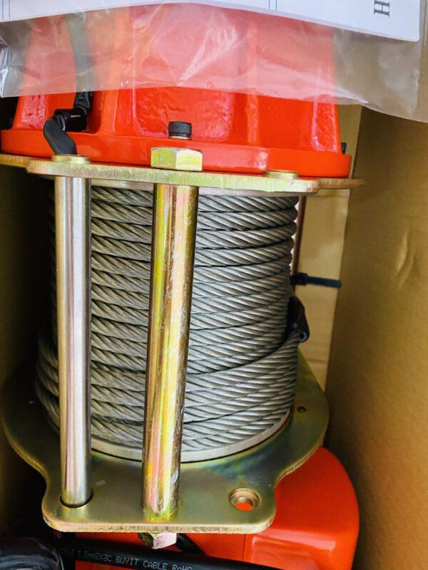 Tời Điện Nhanh 300kg KIO WINCH - Nhập Khẩu Chất Lượng