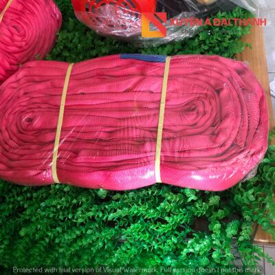 dây cáp vải cẩu hàng bản tròn